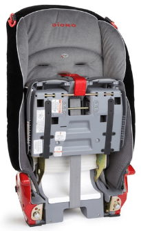 Foldable And Collapsible Narrow Car Seat For Travel