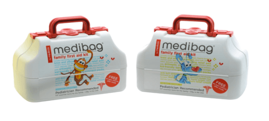 Emergency First Aid Medical Kit for Travel with Kids