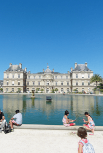 luxembourg gardens paris with babies, toddlers and kids