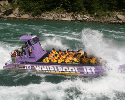 niagara jet boats with kids