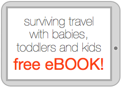 ebook travel with babies, toddlers and kids