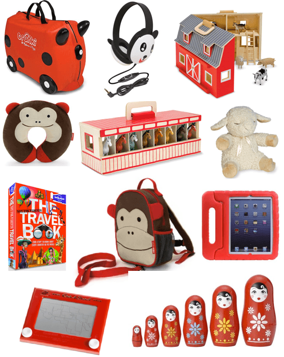 Best Christmas Presents For Traveling Kids 2017