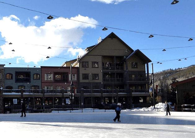 Ice Skating at Keystone Resort