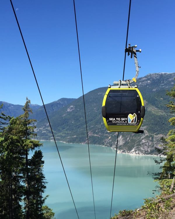 The Squamish Sea to Sky Gondola