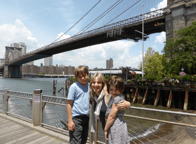 DUMBO Brooklyn with kids
