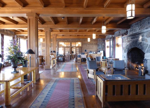 Crater Lake Lodge Interior