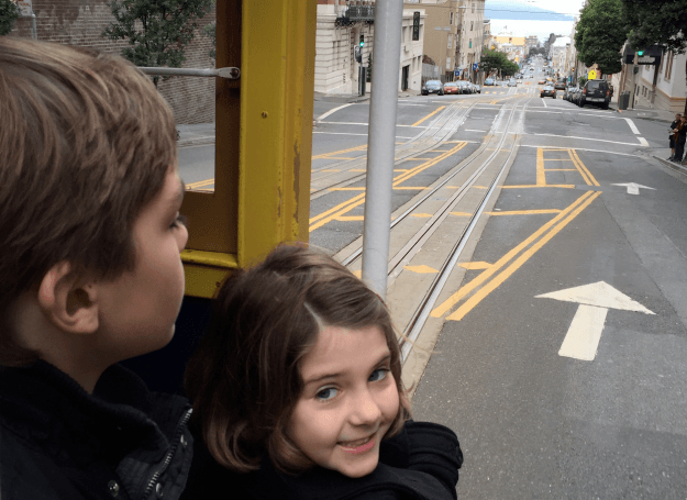 San Francisco with Kids – In Winter