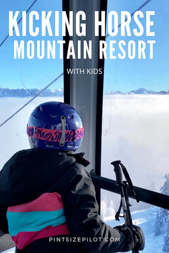 Kicking Horse Ski Resort with Kids