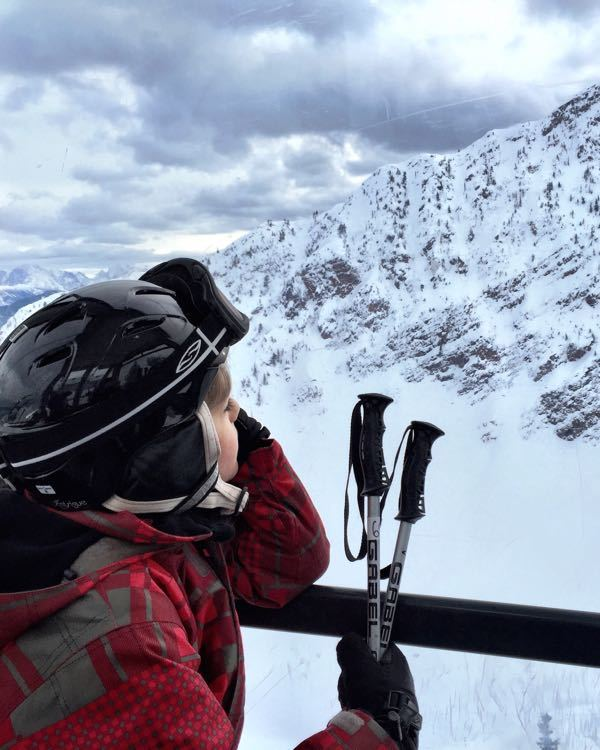The Powder Highway with Kids