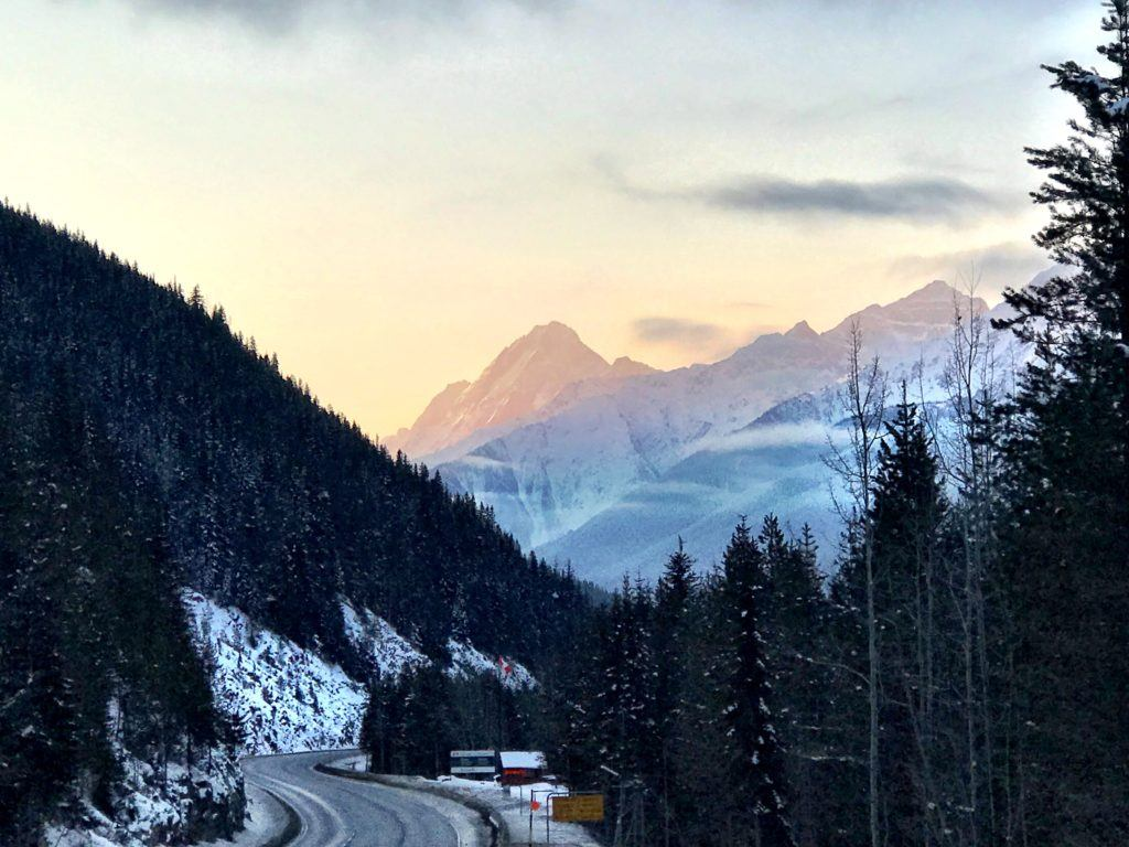 Getting to Kicking Horse