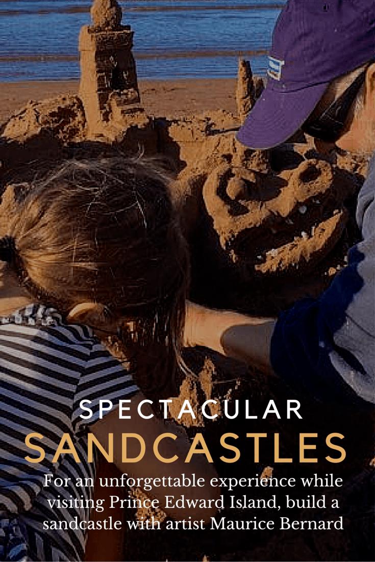 Sandcastles on Prince Edward Island