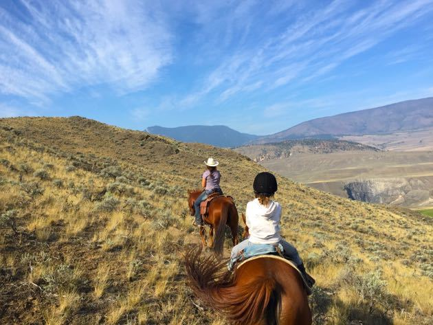 British Columbia Family Friendly Dude Ranches