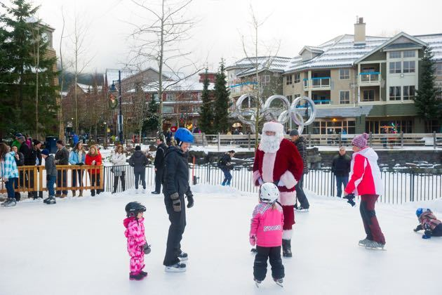 Christmas Events for Families Whistler 2016