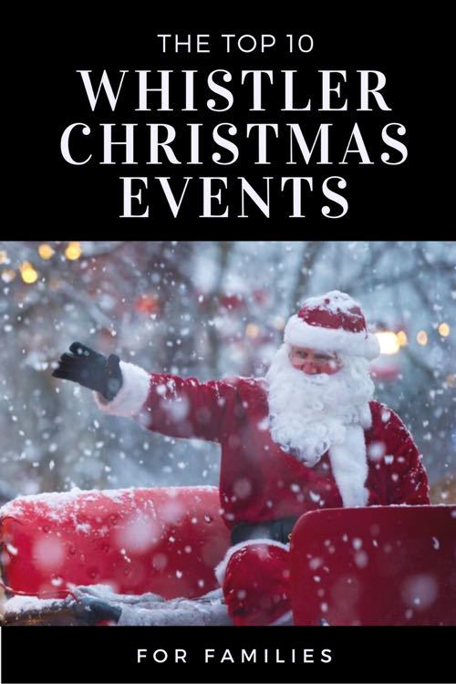 Chistmas Events in Whistler