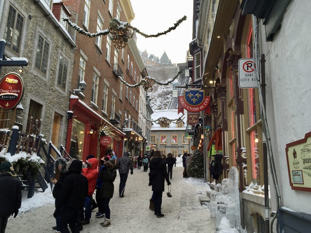 Winter Carnival in Quebec City