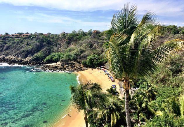 Puerto Escondido Mexico Beach Vacation With Kids Pint