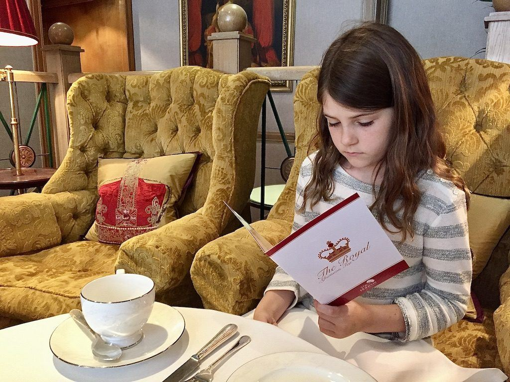 Kids Afternoon Tea London – The Rubens at the Palace