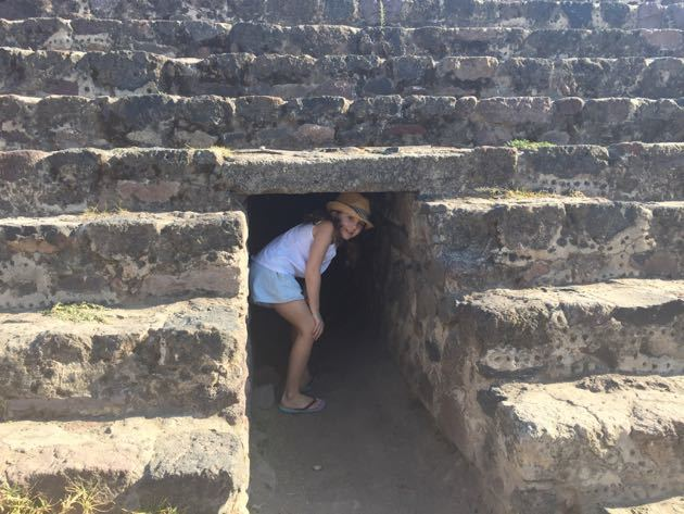 Visiting Teotihuacan with Kids