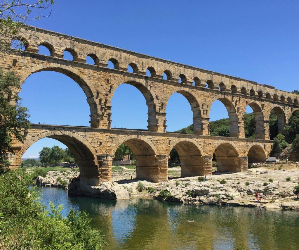 Pont de Gard - France with Kids