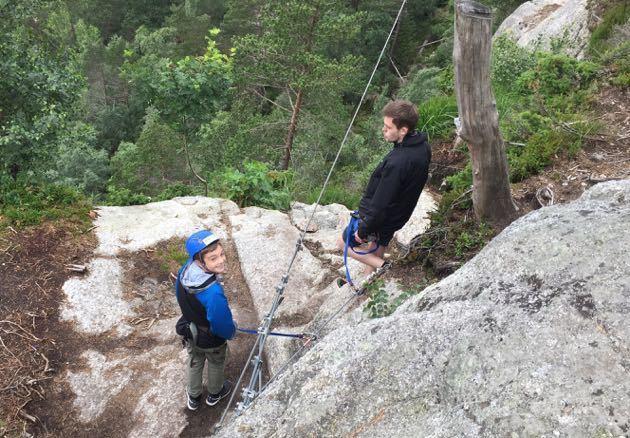 Ziplining Pulpit Rock