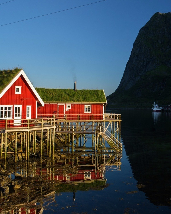Visiting the Lofoten Islands, Norway