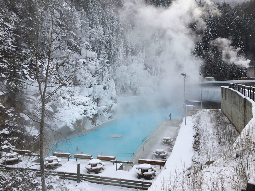 Radium Hot Spring BC