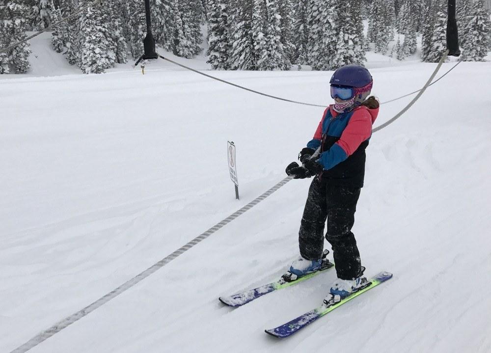 Ski Alta with Kids