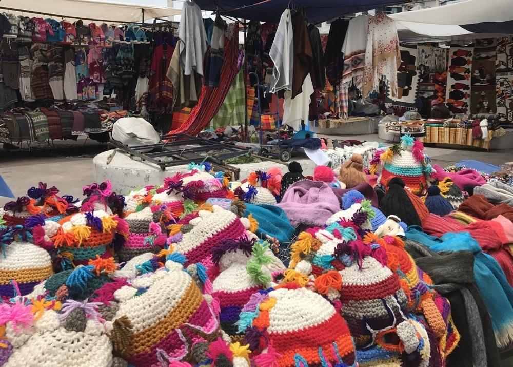 Ecuador Souvenirs - Otavalo Craft Market