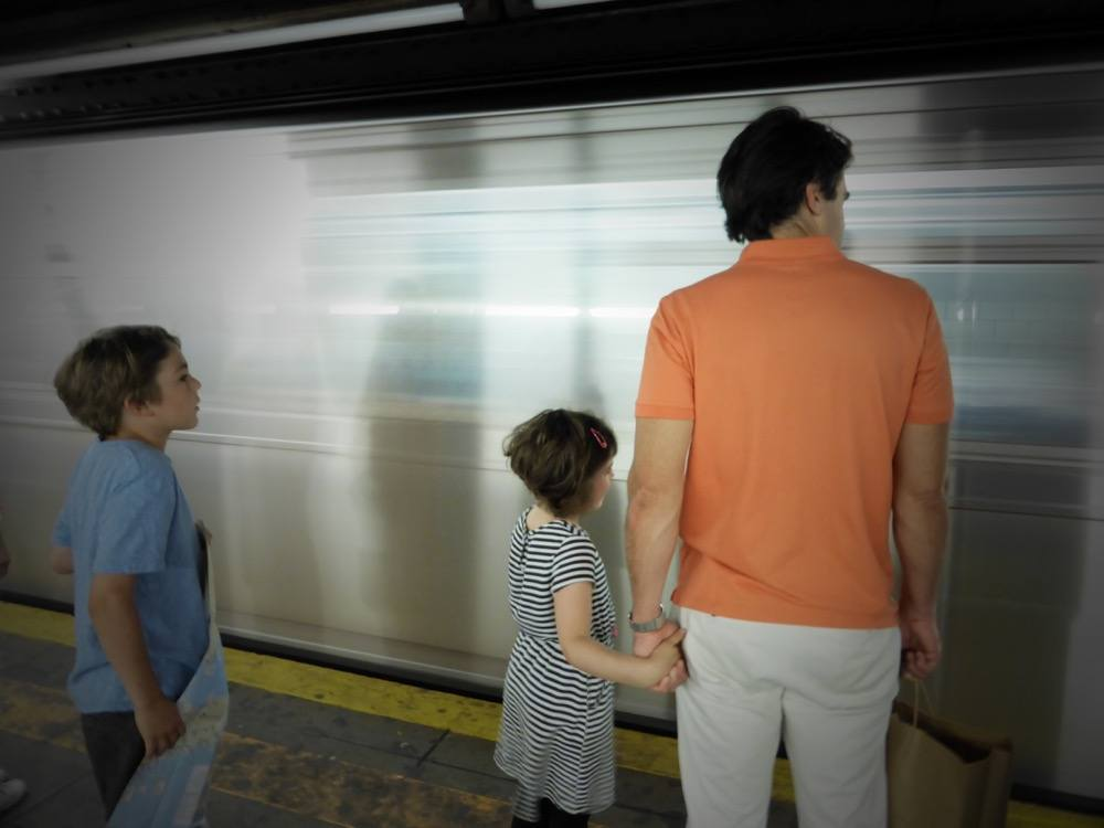 NYC Subway with Kids