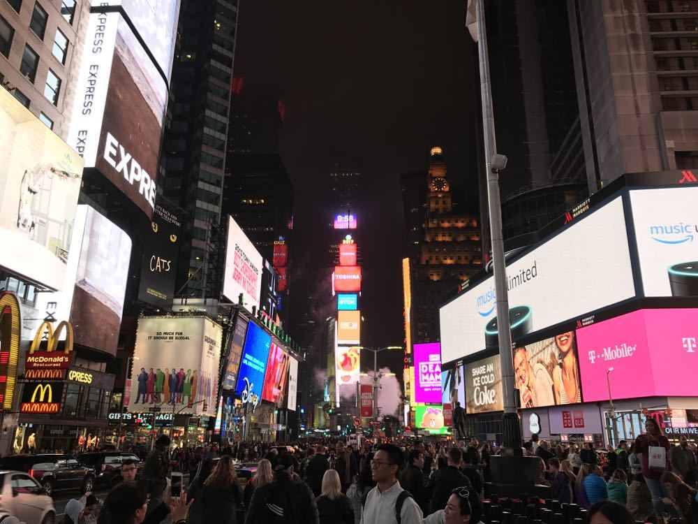 Times Square with Kids