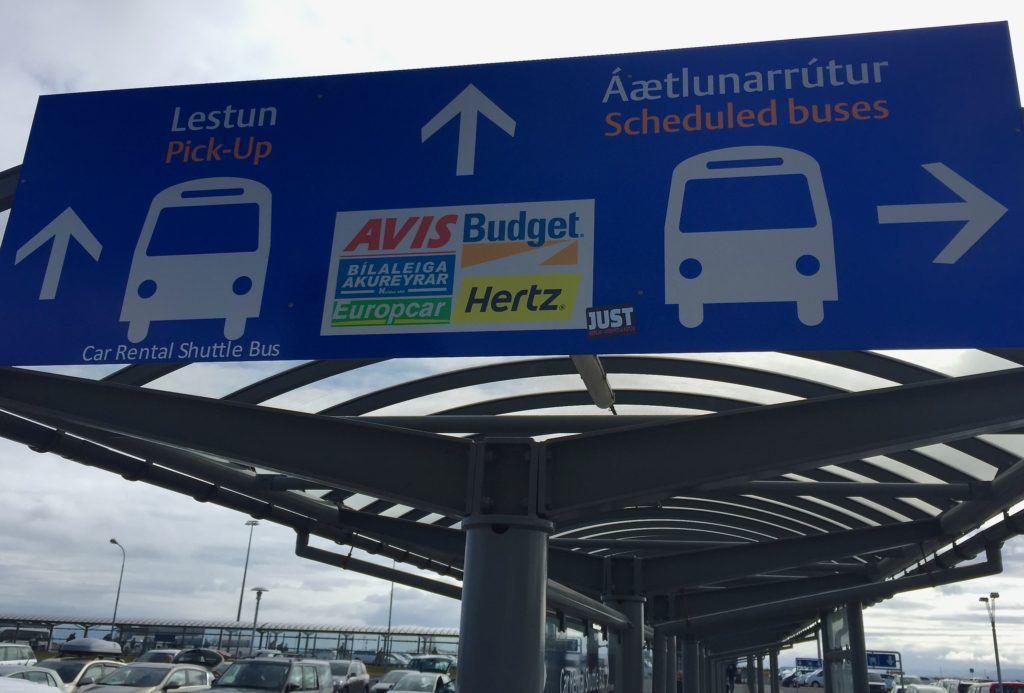 Hertz Car Rental Reykjavik Iceland