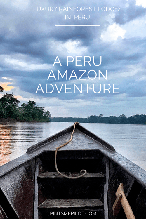 Amazon Peru Rainforest Adventure