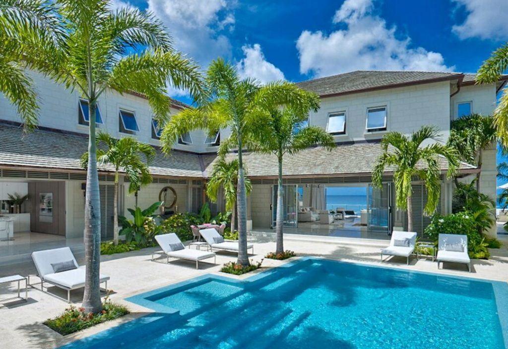 luxury villas barbados 5 gorgeous beachfront villas in. Black Bedroom Furniture Sets. Home Design Ideas