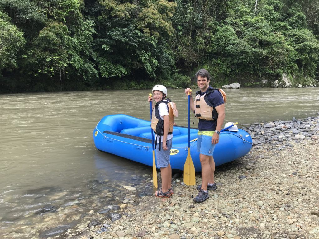 Pacuare Lodge River Rafting