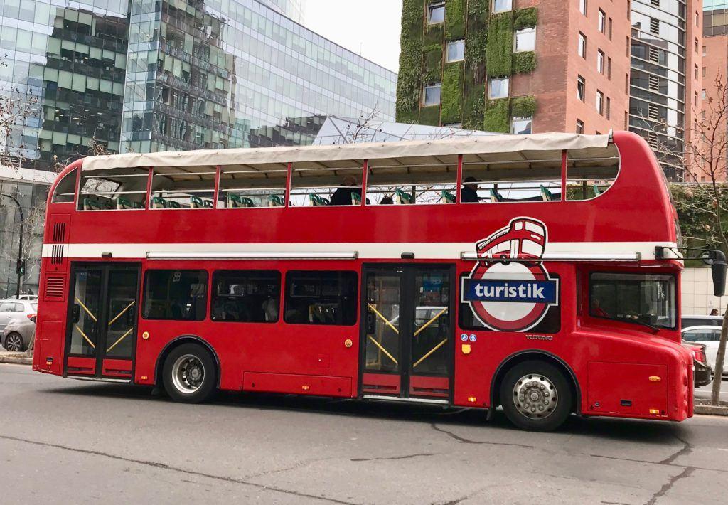 Bus Tour Santiago