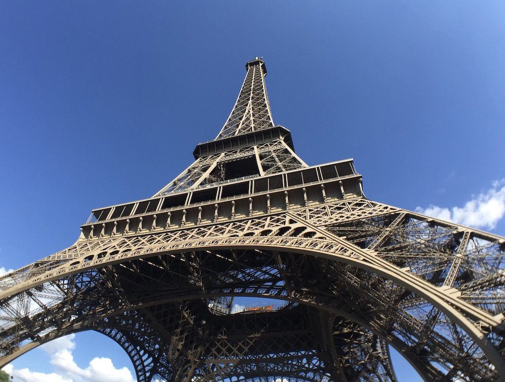 Eiffel Tower – View from Below
