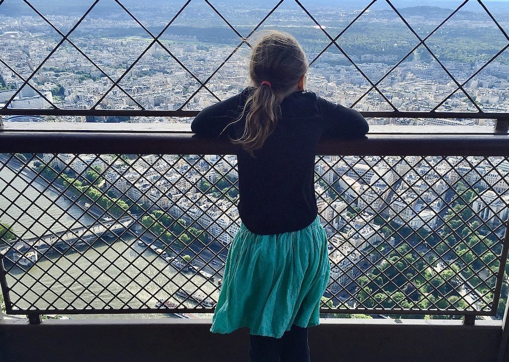 Eiffel Tower – View From Top