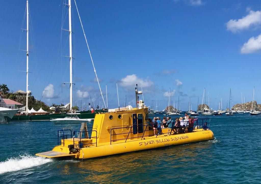 Yellow Submarine St Barts