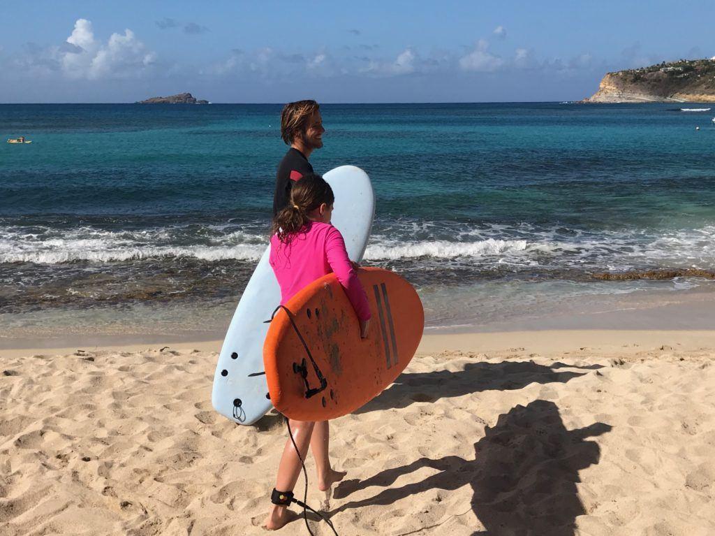 Surf Lessons St. Barths