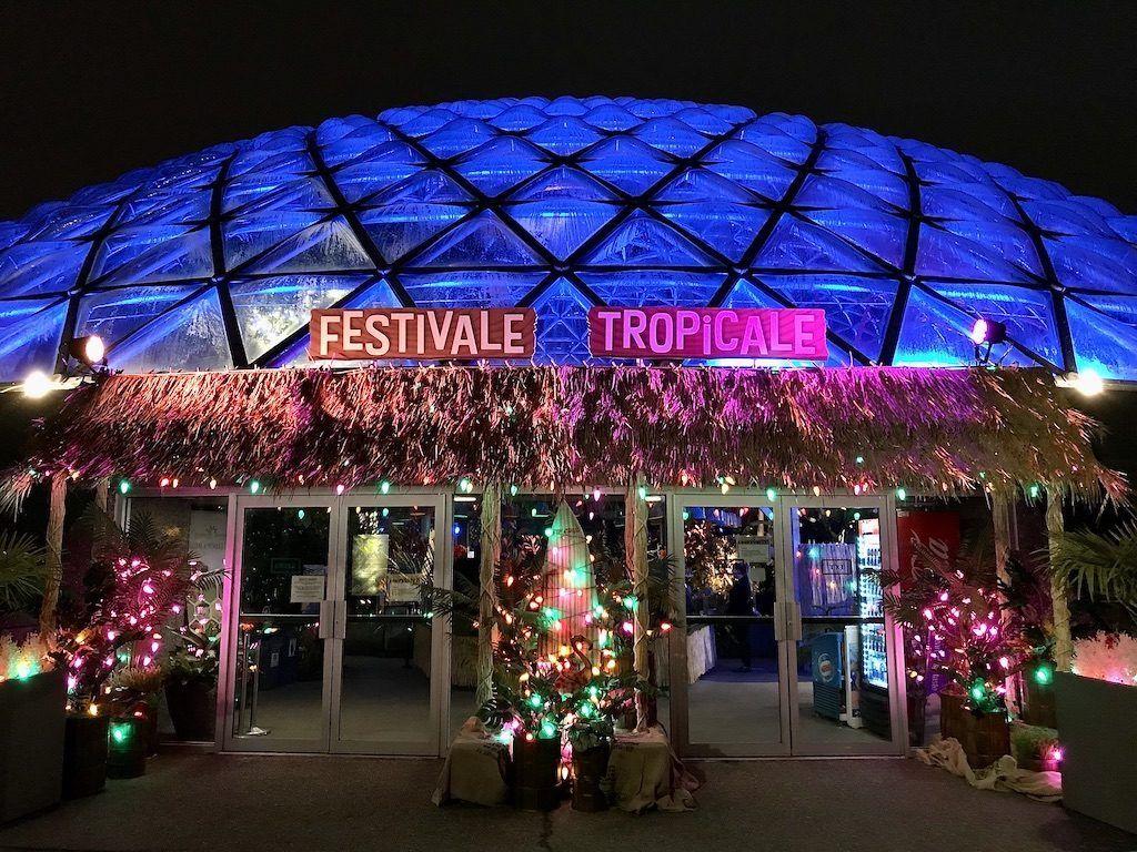 Bloedel Conservatory Christmas