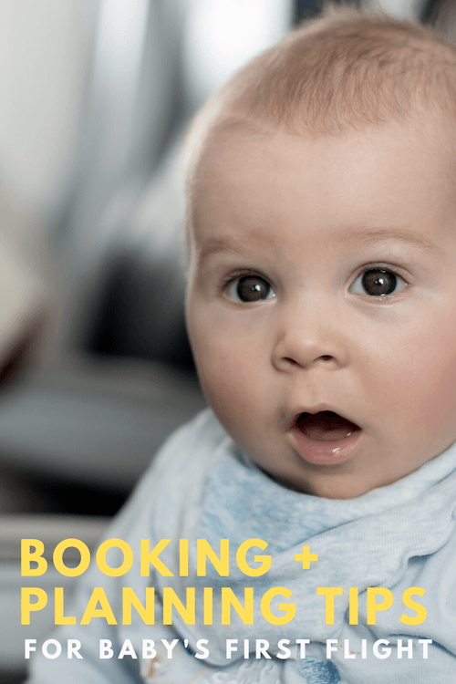 Tips for Booking a Flight with Baby