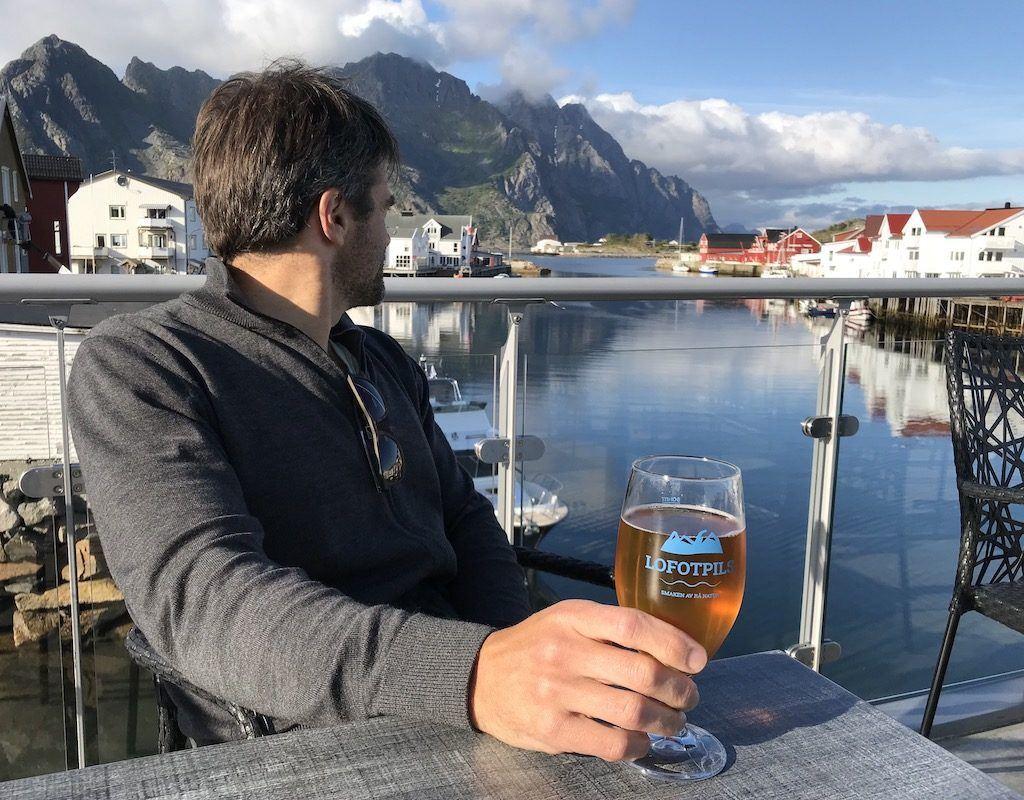 Rooftop Bar, Henningsvær, Lofotens