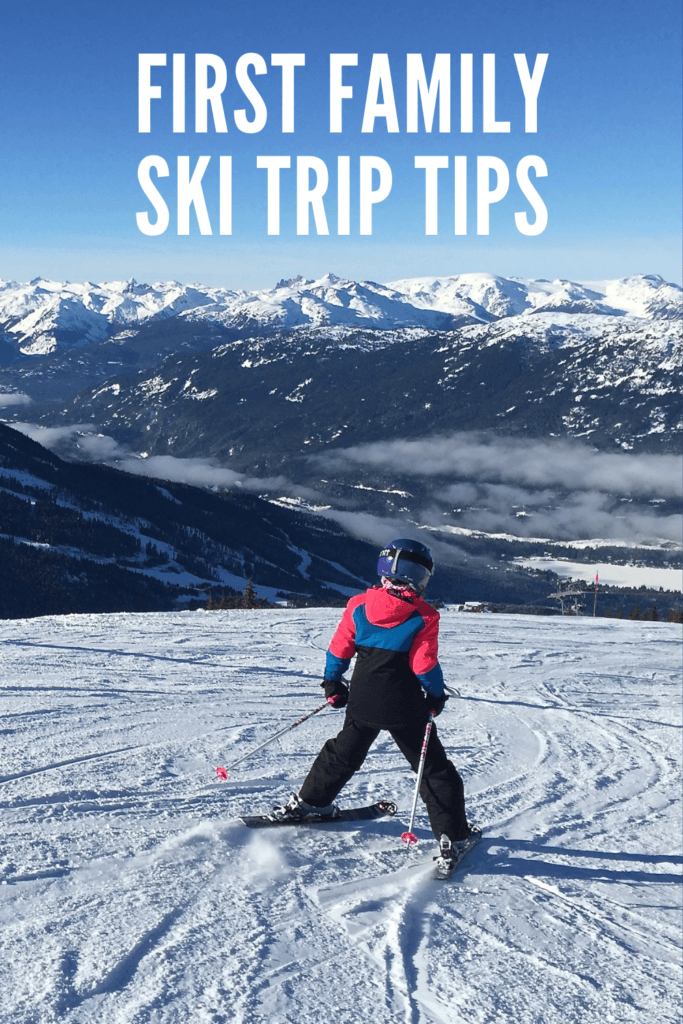 Tips for Ski Holidays with Kids