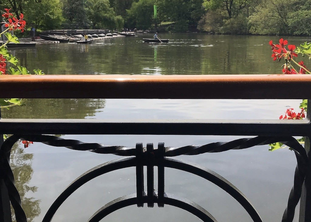View from Loeb Boathouse NYC