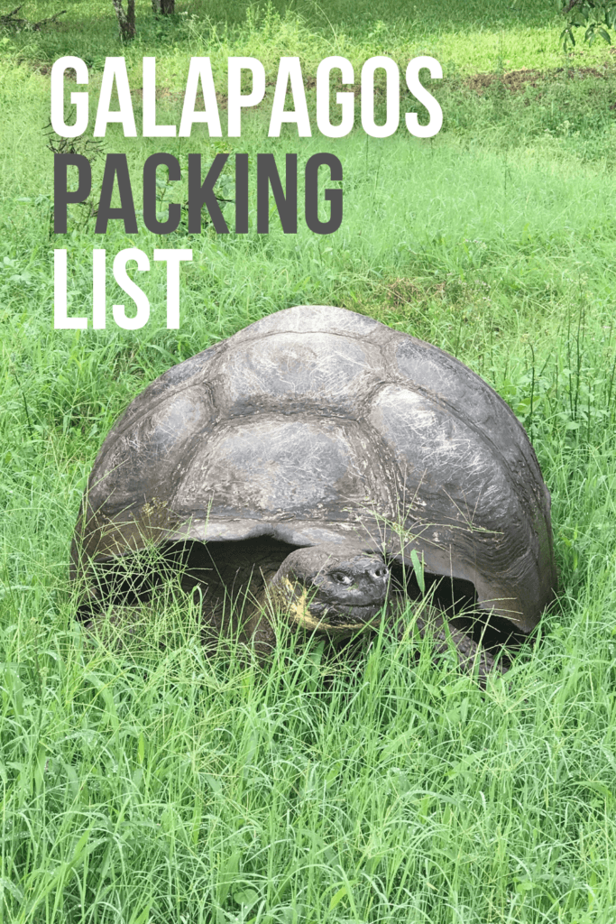 Packing List for Galapagos Travel