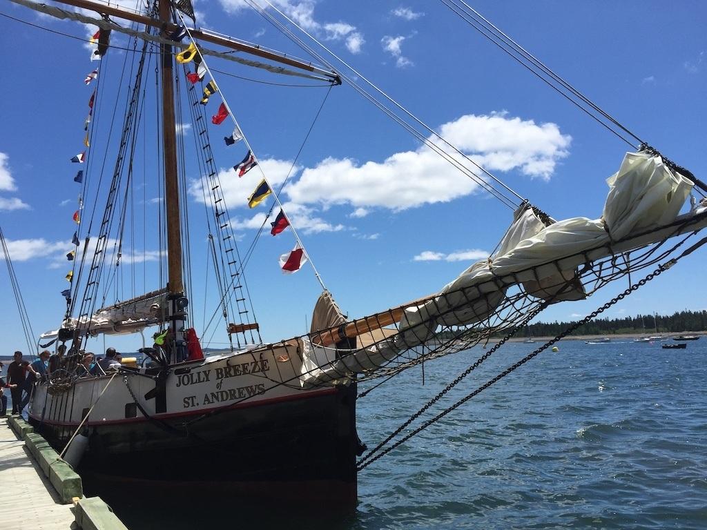 Jolly Breeze Tall Ship St. Andrews