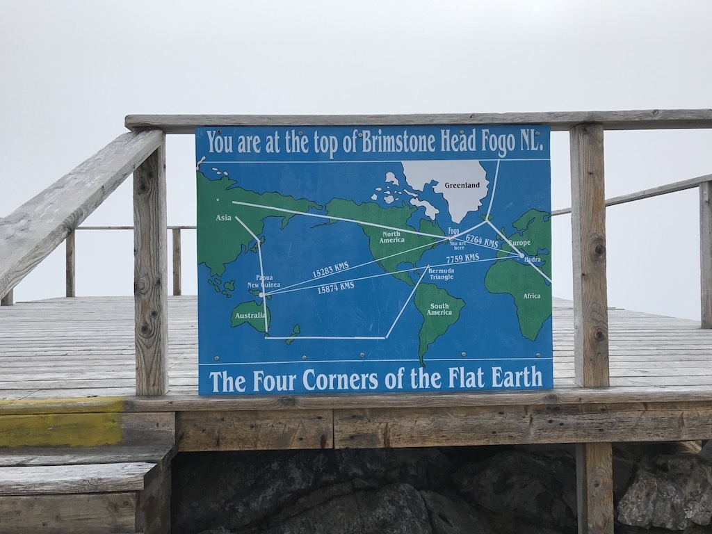 Fogo Island Flat Earth