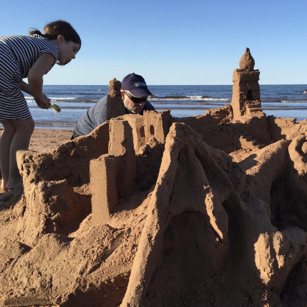Sandcastle Building PEI