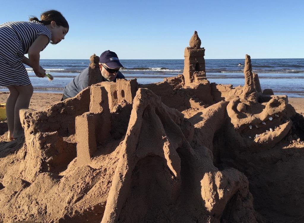 PEI Sandcastles