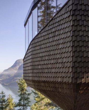 Woodnest Treehouse Odda Norway
